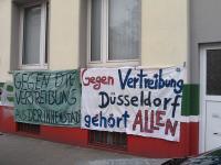 Proteste gegen geplantes Luxusghetto in Düsseldorf 1