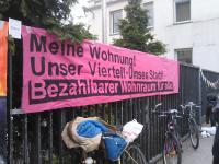 Proteste gegen geplantes Luxusghetto in Düsseldorf 4